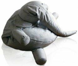 Кресло-мешок в виде слона
