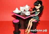 Как сделать стол для кукол