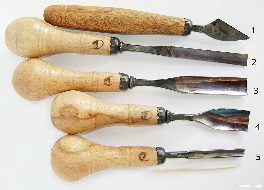 Как сделать из дерева нож для резьбы по дереву 613
