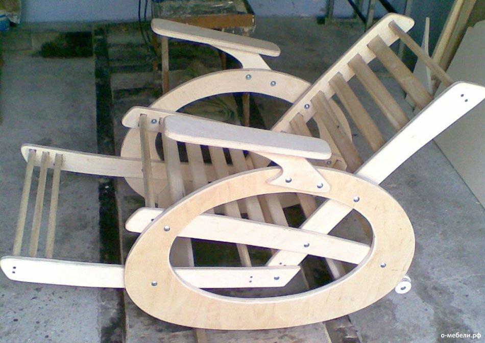 Кресло качалка юла своими руками